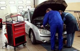 Ford Mondeo - Borek i uczen Janek
