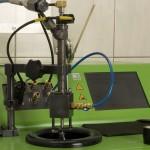 Wtryskiwacz Common Rail na urządzeniu testującym