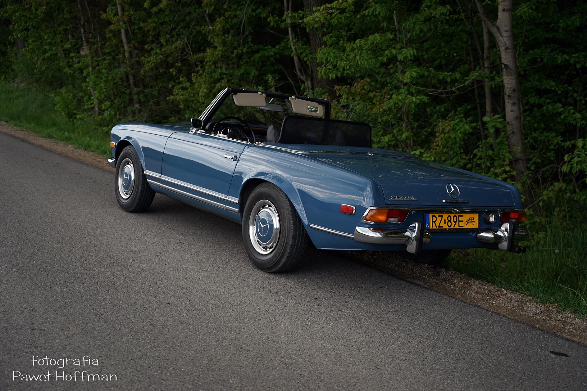16 Rajd Nocy Muzeów Mercedes W113