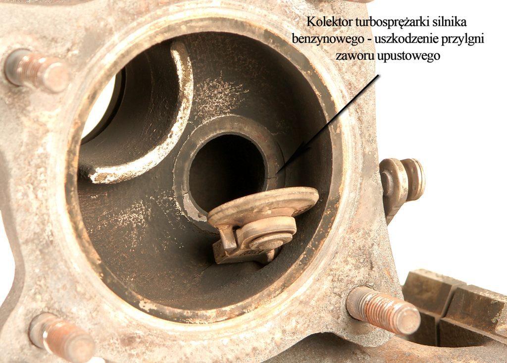 Regeneracja Turbosprężarki – Renault Kerax, Audi VW Uszkodzenie przylgni zaworu upustowego - Audi 2.0 TFSI