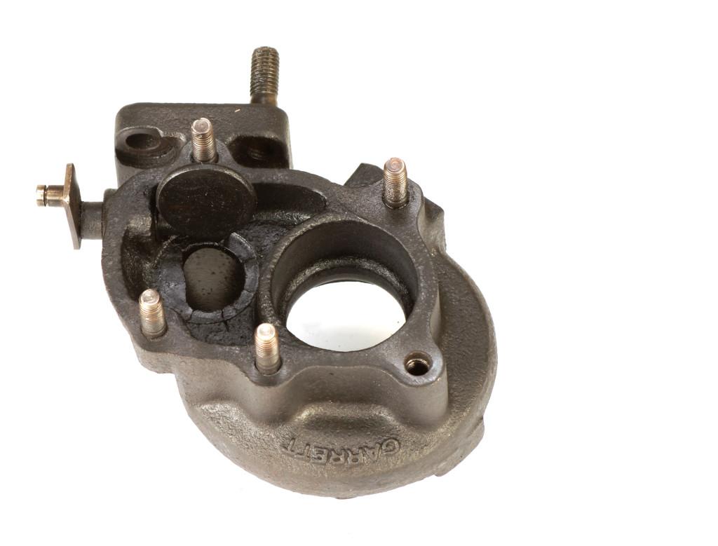 Korpus turbosprężarki - uszkodzenie przylgni zaworu ciśnienia wskutek wysokiej temperatury postronie wydechu