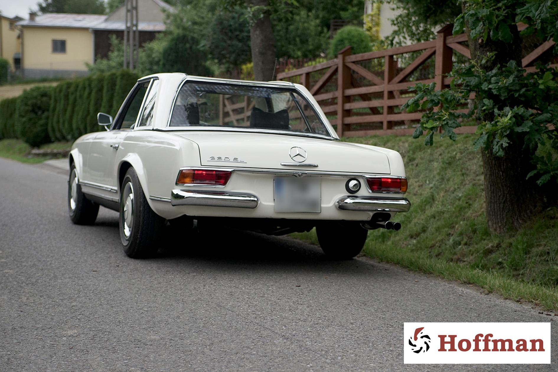 Mercedes W113 230SL tył