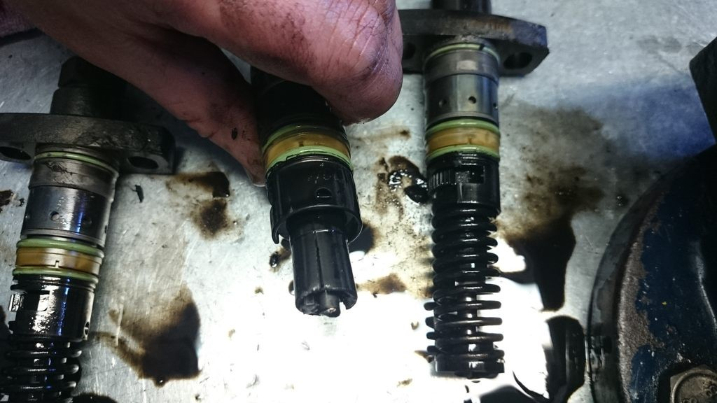 Pompa Motorpal - Zetor Proxima elementy tloczacy