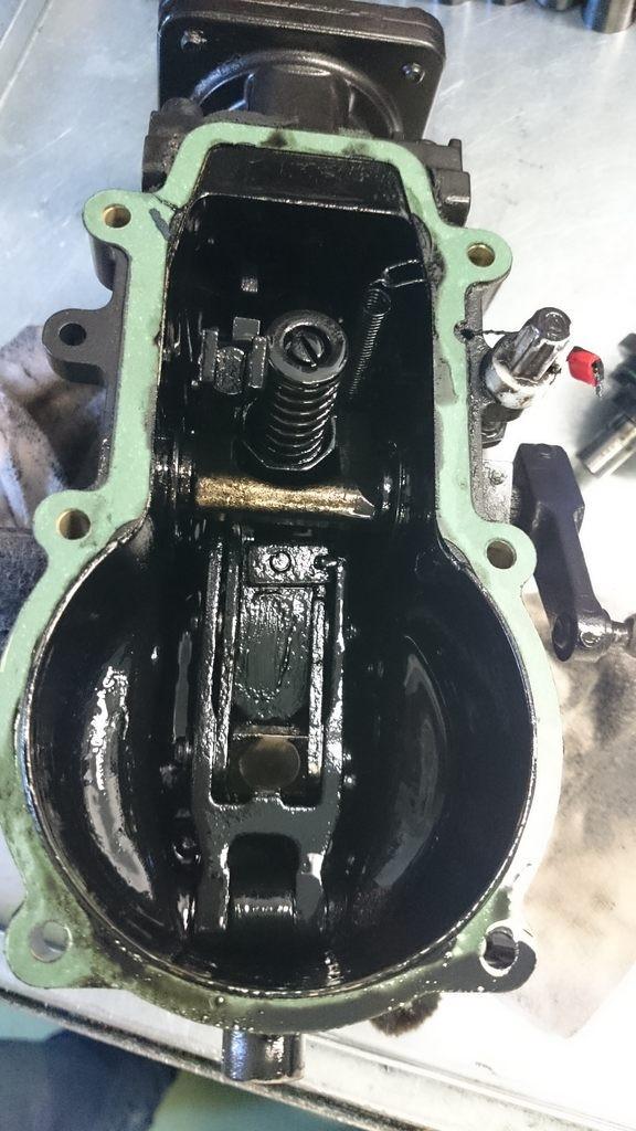 Pompa Motorpal - Zetor Proxima - regulator - zanieczyszczony olej