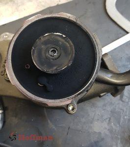 urwany wałek turbosprężarki volvo
