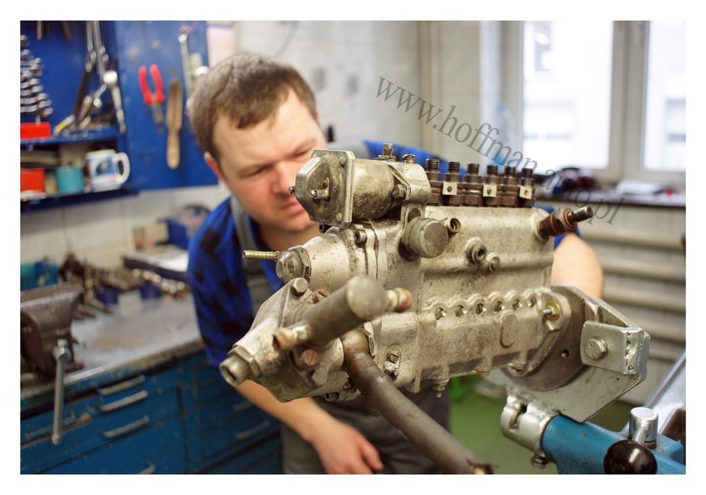 Pompa wtryskowa zregulatorem pneumatycznym stosowana wpojazdach starszej generacji
