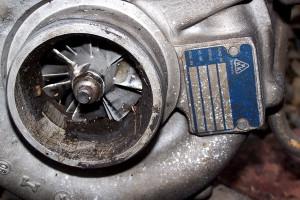 Uszkodzenia Turbosprężarek