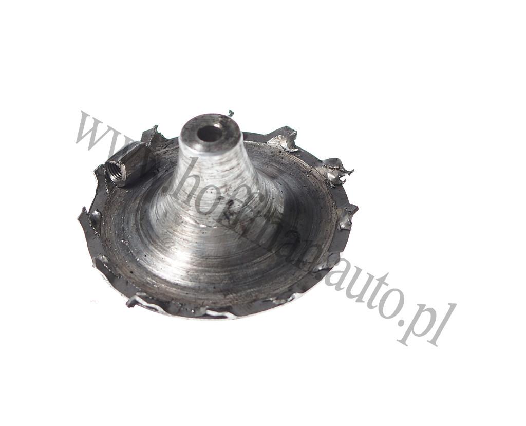 turbosprężarki wsilnikach spalinowych biturbo itwinturbo Uszkodzony wirnik sprężarkowy