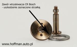 Twornik (zawór) cewki wtryskiwacz CR Bosch
